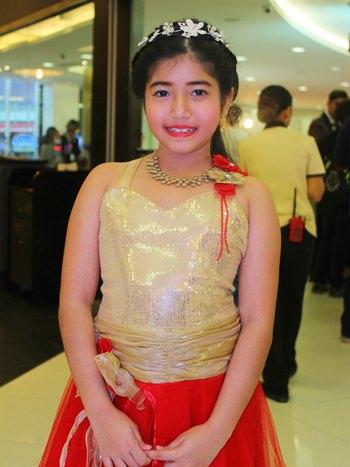 น้องฟาฮาน่า มาโลตรา มาในชุดเจ้าหญิงอินเดีย
