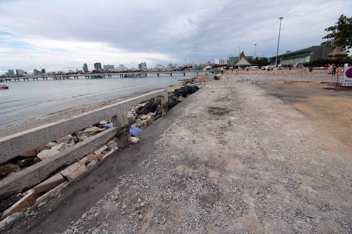 เมืองพัทยา เตรียมปรับปรับปรุงภูมิทัศน์ท่าเทียบเรือแหลมบาลีฮาย10 มิถุนายน 60 นี้
