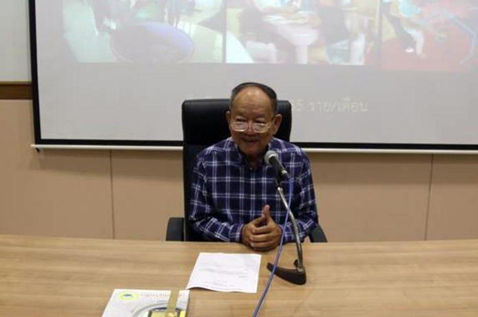 ดร.มาย ไชยนิตย์ นายกเทศมนตรีเมืองหนองปรือ