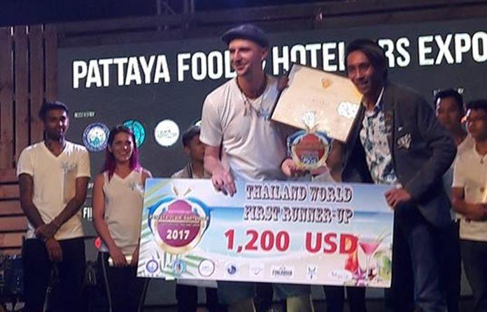 อันดับที่ 2 ได้แก่ MR.Adam Branczyk จากประเทศโปแลนด์ ได้รับเงินรางวัล 1,200  USD