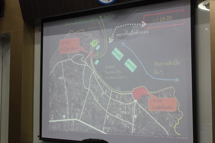 วางแผนการสวนสนามทางเรือนานาชาติ ทั้งทางบกและทางน้ำ