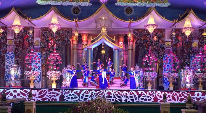 การแสดงวัฒนธรรมไทย-จีน ภายในงาน