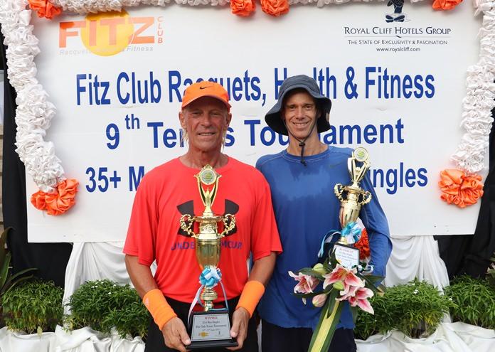 ผู้ชนะเลิศประเภทชายเดี่ยว  Mr.Markus Zinkand ผู้ชนะเลิศ และ Mr.Jeff Conard  รองชนะเลิศ
