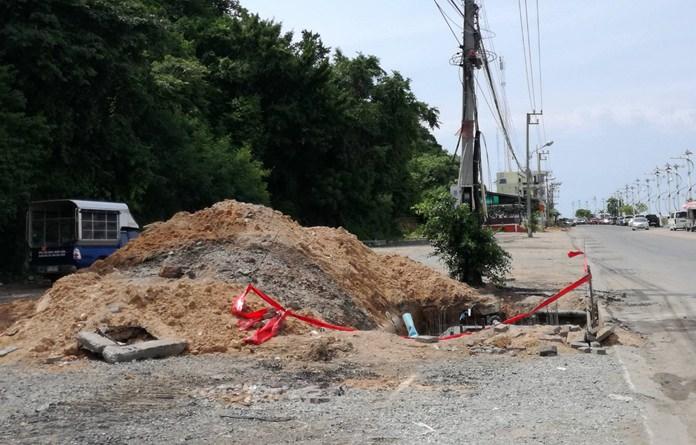โครงการไฟฟ้าใต้ดินแหลมบาลีฮาย คาดว่าจะแล้วเสร็จภายในวันที่ 10 ตุลาคมนี้ เพื่อรองรับงานสวนสนามทางเรือนานาชาติ