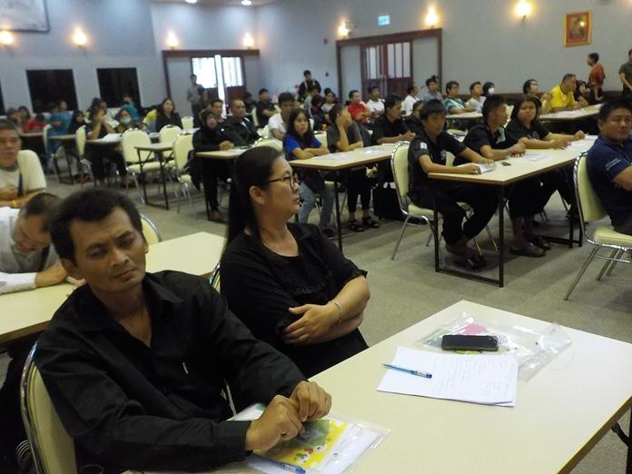 ผู้ร่วมอบรม เป็นกลุ่มเป้าหมายเป็นคนพิการวัยทำงานทุกประเภท จำนวน 80 คน