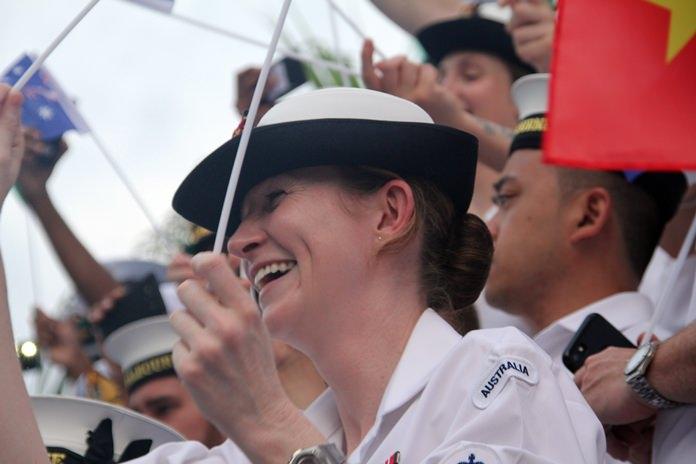 รอยยิ้มของทหารเรือสาวสวยชาวออสเตรีย