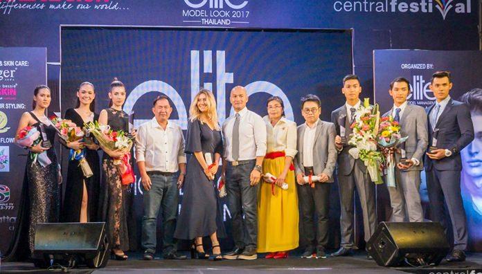 นายเอ็ดเวิร์ด กิตติ ประธานกรรมการ บริษัท อีลิท โมเดล แมเนจเม้นท์ เซ้าท์อีสท์เอเซีย จำกัด เป็นประธานในการมอบรางวัลแก่ นายแบบ/นางแบบ Elite Model Look Thailand 2016 ทั้ง 6 คน