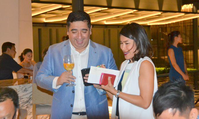 Saurabh Jukreja GM  and Thansita Sirapastuwanon Director of Sales and Marketing of  Renaisance Pattaya Resort & Spa