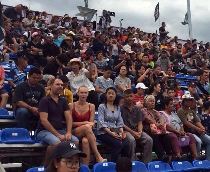 บรรยากาศการแข่งขัน เครื่องบินสูตร 1 ชิงแชมป์โลก AIR RACE 1 World Cup Thailand 2017