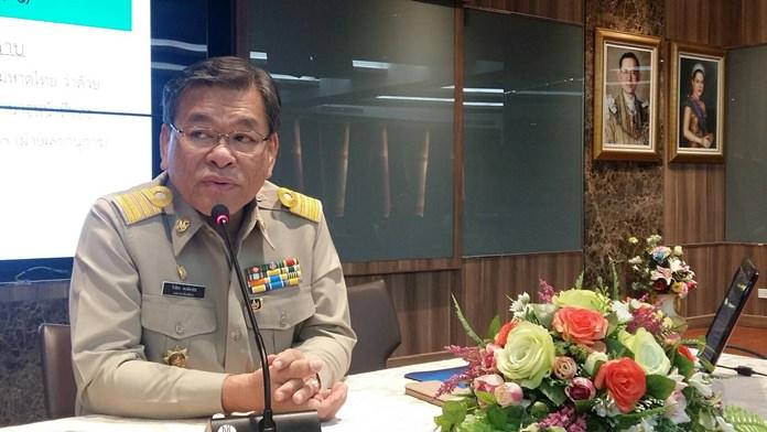 นายวิเชียร พงษ์พานิช รองนายกเมืองพัทยา เป็นประธานประชุมการให้ความช่วยเหลือประชาชน ตามโครงการองค์การบริหารส่วนจังหวัดชลบุรี ร่วมใจ ห่วงใยประชาชน
