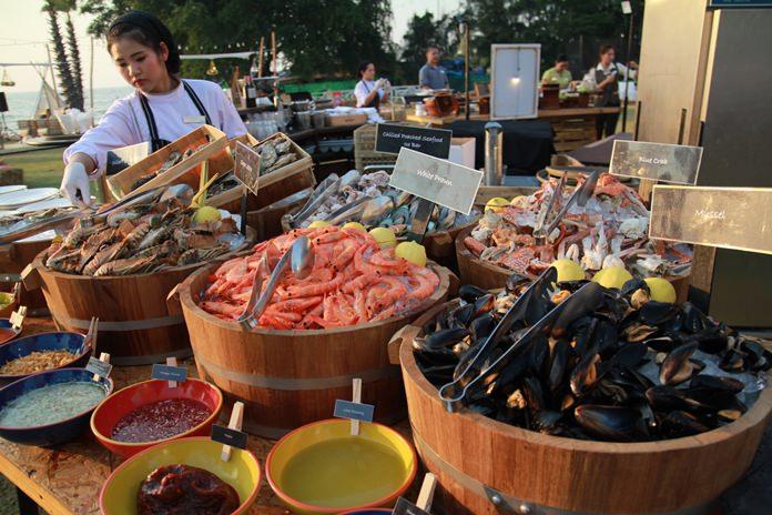 อาหารทะเลสดๆคุณภาพสากล ราคาไทยๆ