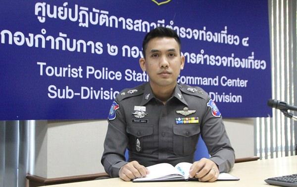 พ.ต.ท.ปิยะพงษ์ เอนสาร สารวัตรตำรวจท่องเที่ยวเมืองพัทยา เปิดเผยมาตรการเข้มช่วงตรุษจีน