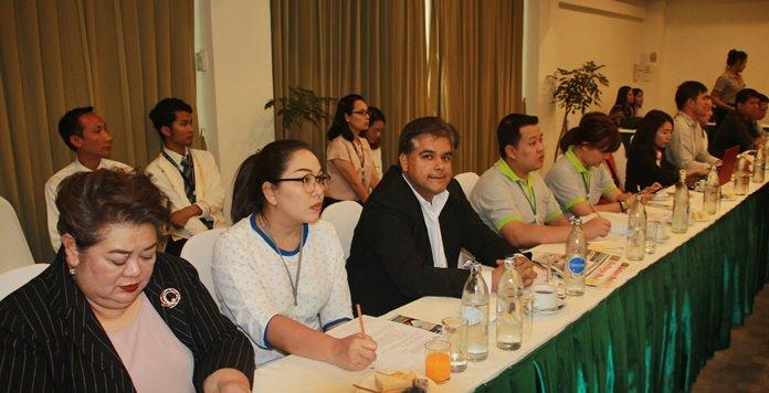 เหล่าสมาชิค PBTA และหน่วยงานภาคส่วนเกี่ยวข้องเข้าร่วมการประชุม โดยพร้อมเพรียง