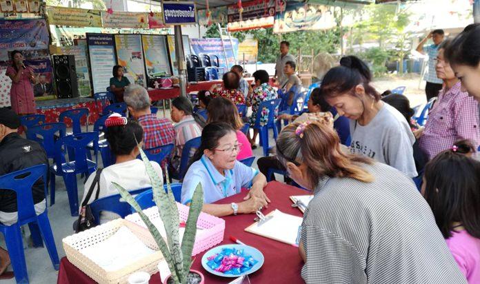 กองทุนหมู่บ้านชุมชนซอยกอไผ่ เปิดการประชุมประจำเดือนกองทุนหมู่บ้าน พร้อมแจงรายชื่อผู้มีสิทธิ์รับปันผลหุ้นเฉลี่ยคืน