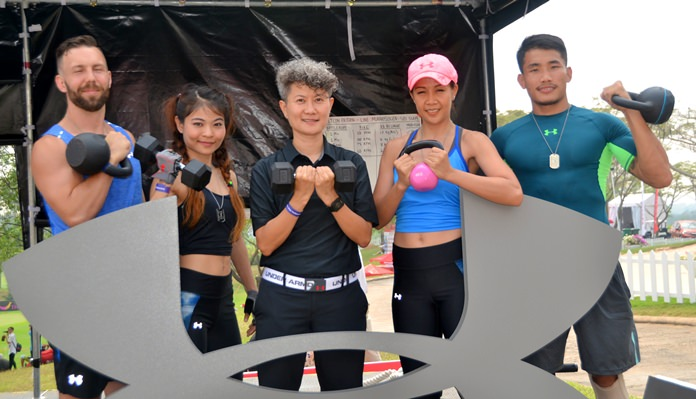 บูทกิจกรรม Under Armour ในงาน LPGA Thailand 2018