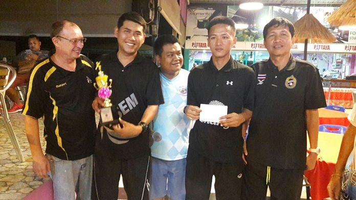 ผลการแข่งขันประเภททีม 2 คน ไทยเป็นผู้ชนะคว้าเงินรางวัล 10,000 ไปครอง