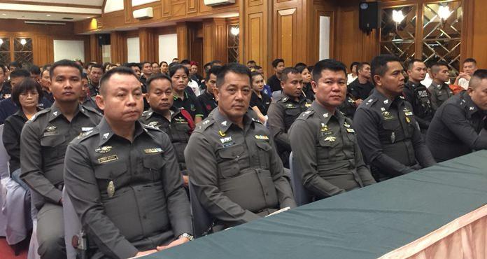 เจ้าหน้าที่ตำรวจ และอาสาสมัคร เข้าร่วมโครงการฯกว่า 500 คน
