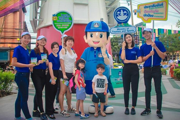 ลงพื้นที่ประชาสัมพันธ์กลุ่มนักท่องเที่ยวชาวจีน ที่ถือว่าเป็นกลุ่มนักท่องเที่ยวอันดับต้นๆของเมืองพัทยา