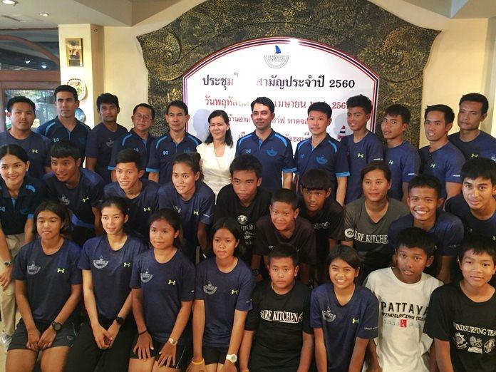 นายอิทธิพล คุณปลื้ม นายกสมาคมวินด์เซิร์ฟแห่งประเทศไทย เป็นประธานการประชุมใหญ่สามัญประจำปี 2560 ตั้งเป้าปีนี้ลุยศึกใหญ่เหมือนเดิม ทั้งเอเชียนเกมส์ ซีเกมส์และโอลิมปิก