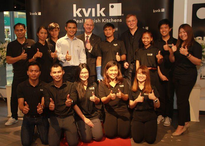 ทีมงาน Kvik สาขาพัทยา พร้อมให้บริการ