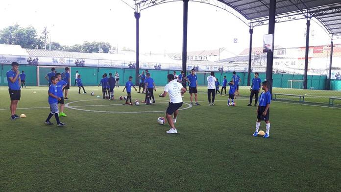 กิจกรรมจัดขึ้นเพื่อให้ เยาวชนในเมืองพัทยา และพื้นที่ใกล้เคียง ได้มีสุขภาพที่แข็งแรง และทักษะในการเล่นฟุตบอล
