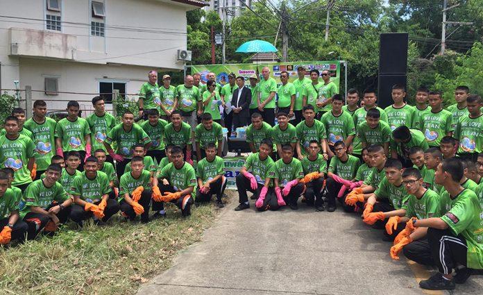 พล.ต.ต.อนันต์ เจริญชาศรี นายกเมืองพัทยา เป็นประธานเปิดโครงการรวมพลัง เรารักเมืองไทยสะอาด Cleanup Day ครั้งที่ 1