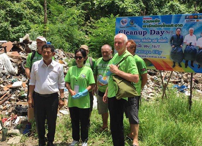 โครงการรวมพลัง เรารักเมืองไทยสะอาด Cleanup Day ครั้งที่ 1 ภายใต้การดำเนินการขององค์กร Rubbish Communication การสื่อสารด้านการขยะ จากความร่วมมือของชาวไทยกับชาวสแกนดิเนเวียน