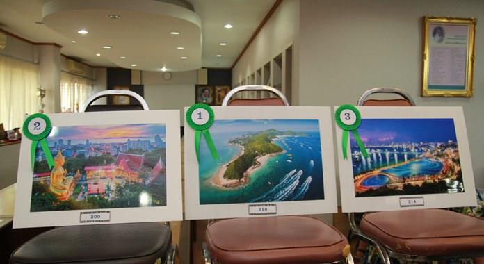 ชนะเลิศอันดับที่ 1 ชื่อภาพ โก ทู เกาะล้าน อันดับที่  2 ชื่อภาพ แดนดินถิ่นธรรม และอันดับที่ 3 ชื่อภาพชมวิวพัทยายามค่ำคืน