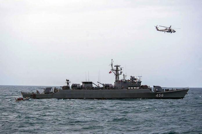 ทัพเรือสหรัฐฯ ทัพเรือไทย  และมิตรประเทศในภูมิภาคเอเชียตะวันออกเฉียงใต้  ร่วมทำการฝึกปฏิบัติการสะเทินน้ำสะเทินบก