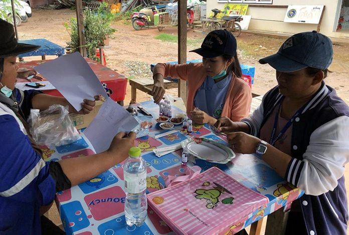 เกาะล้านพัทยาเข้ม เน้นสุขอนามัยนักท่องเที่ยวและประชาชน จัดหน่วยเคลื่อนที่ตรวจมาตรฐานร้านอาหาร