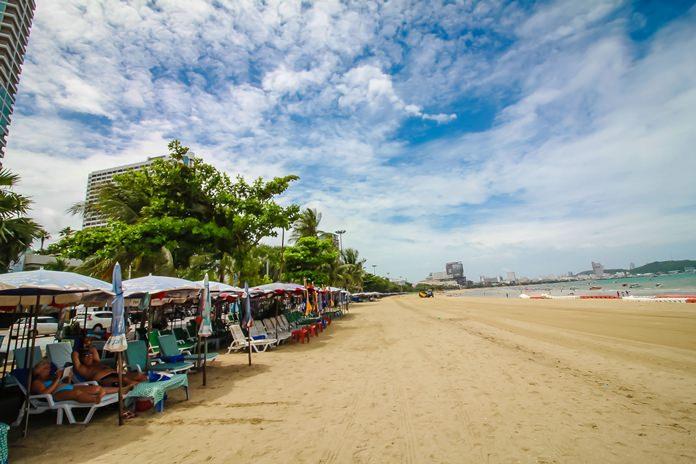 นักท่องเที่ยว สามารถมีพื้นที่ชายหาดได้ใช้สอยเพิ่มขึ้น