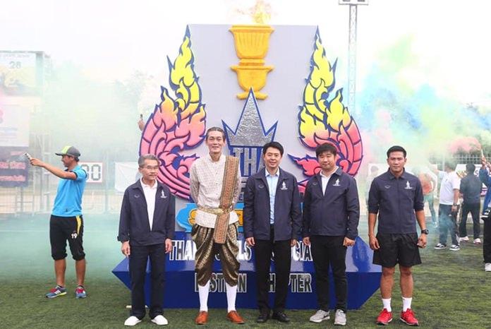 นายปรเมศวร์ งามพิเชษฐ์ รองนายกเมืองพัทยา  นายสรรเพ็ชร ศุภบวรเสถียร อุปนายกสมาคมโรงแรมไทยภาคตะวันออก ร่วม เป็นประธานในพิธีเปิดการแข่งขัน กีฬาสมาคมโรงแรมไทยภาคตะวันออก ครั้งที่ 28 หรือ THAE SPORT Day 2018