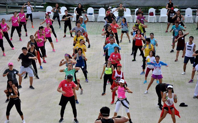 โรงแรมอวานี พัทยา จัดแข่งขันเต้นแอโรบิค มาราธอนการกุศล