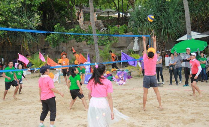 การแข่งขันวอลเลย์บอลชายหาด