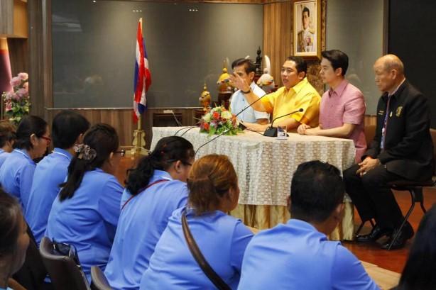 นายกเมืองพัทยา ยกระดับมาตรฐานการบริการหมอนวดแผนไทย