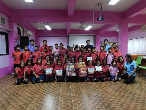 มูลนิธิ HHN เพื่อเด็กไทยให้ความรู้เรื่องการป้องกันตนเองจากการถูกล่อลวง โรงเรียนทุ่งคา
