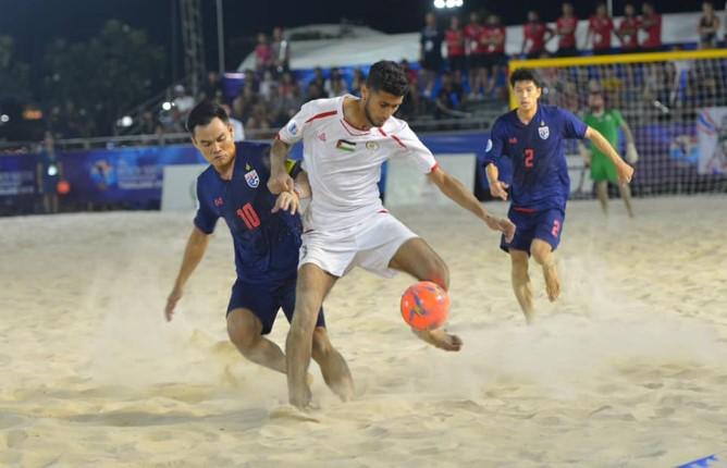 เริ่มแล้ว! การแข่งขันฟุตบอลชายหาดชิงแชมป์เอเชีย 2019 ณ แหลมบาลีฮายพัทยา