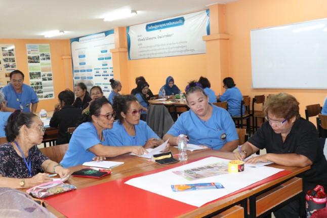เปิดเรียนแล้ว โรงเรียนผู้สูงอายุเทศบาลเมืองหนองปรือ รุ่นที่ 3