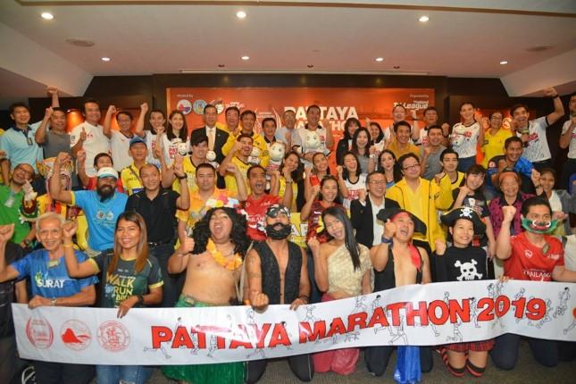 สุดฮอต! นักวิ่งไทย-เทศแห่สมัครพัทยามาราธอนปี 62 แค่ 10 นาที เต็ม 12,000 คน