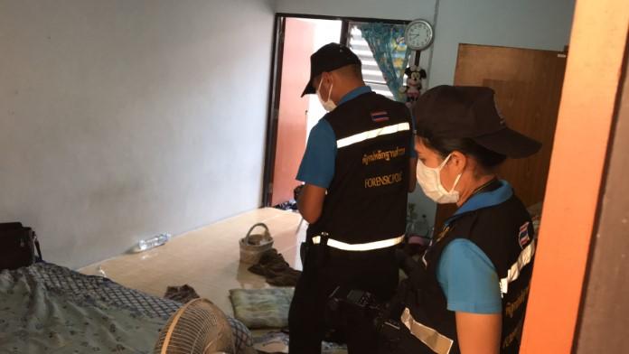 สาวประเภทสองพนักงานนวดแผนไทย นอนอืดดับปริศนาคาห้องพัก