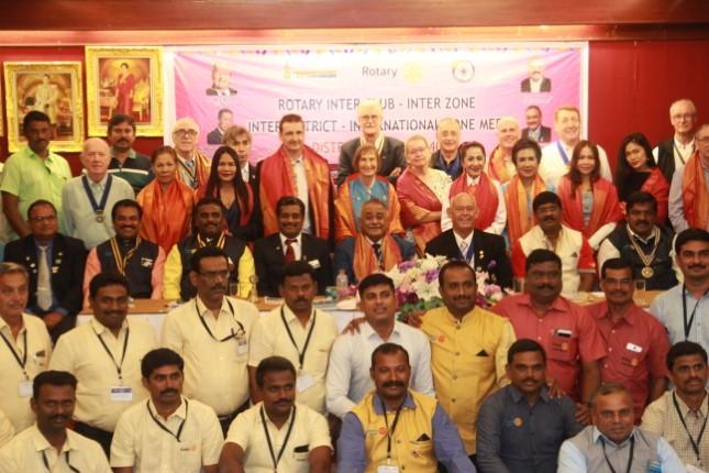 5 สโมสรโรตารีจากประเทศอินเดีย ประชุมสัญจรสโมสรโรตารีไทย ภาค 3340 สานสัมพันธ์มิตรภาพ