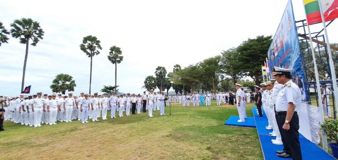 กองทัพเรือ 11 ประเทศ ร่มฝึกผสม ASEAN –  U.S. Maritime Exercise 2019