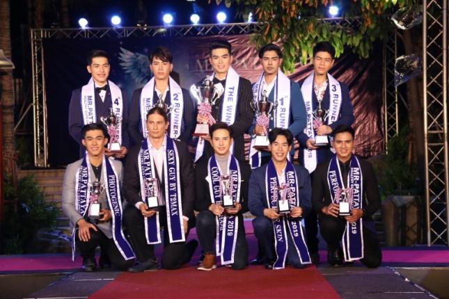 ผลการประกวด Mr.Pattaya Healthy Guys Challenge 2019