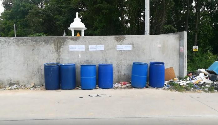 ชาวบ้านหนองใหญ่ ซอย 10 ฉุนร้องสื่อ  ถูกปฏิเสธห้ามทิ้งขยะในถัง