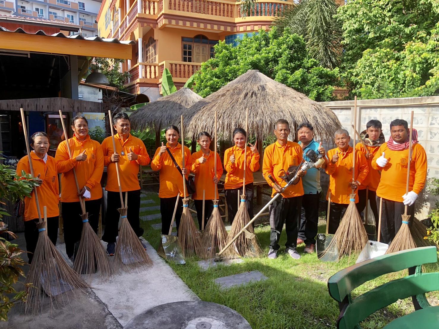 ชุมชนซอยกอไผ่ นำร่องโครงการอนุรักษ์สิ่งแวดล้อมบนท้องถนน ตามนโยบายของเมืองพัทยา