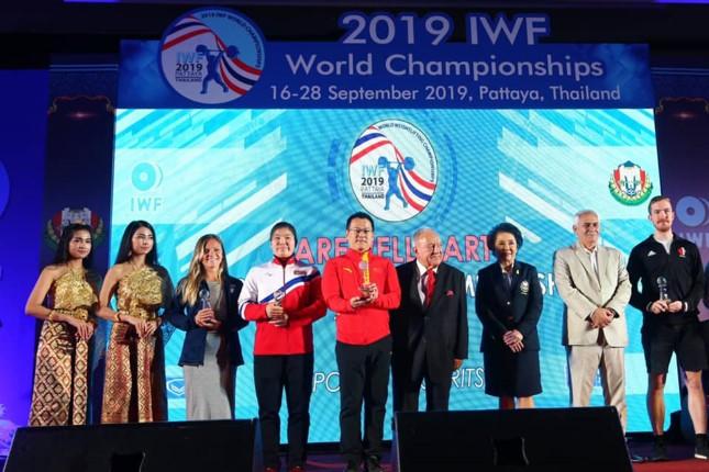 จีนครองจ่าฝูง กวาด 29 เหรียญทอง ยกน้ำหนักชิงชนะเลิศแห่งโลก