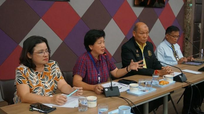 ประชุมจัดตั้งสหกรณ์ชุมชนเมืองพัทยา เพื่อให้ง่ายต่อการทำงาน ด้านการส่งเสริมอาชีพของประชาชน