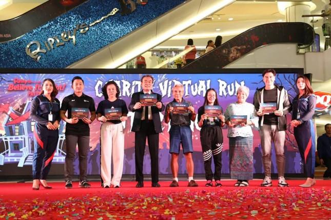 เตรียมจัดต้นปีหน้า วิ่งการกุศล Ripley's Charity Virtual Run 2020