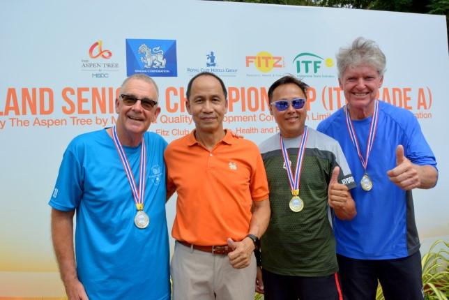 นักกีฬากว่า 20 ประเทศ เข้าร่วมการแข่งขัน เทนนิส ซีเนียร์ แชมป์เปี้ยนชิพ GRADE A 2019