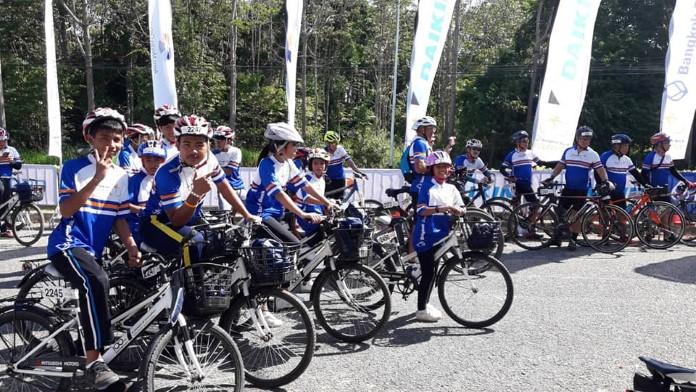 เด็กบ้านเอื้ออารี เข้าร่วมงาน Bangkok Bank Cycle Fest 2019 ส่งเสริมการออกกำลังกาย
